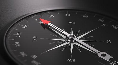 Vad är LSS - en bild på en kompass